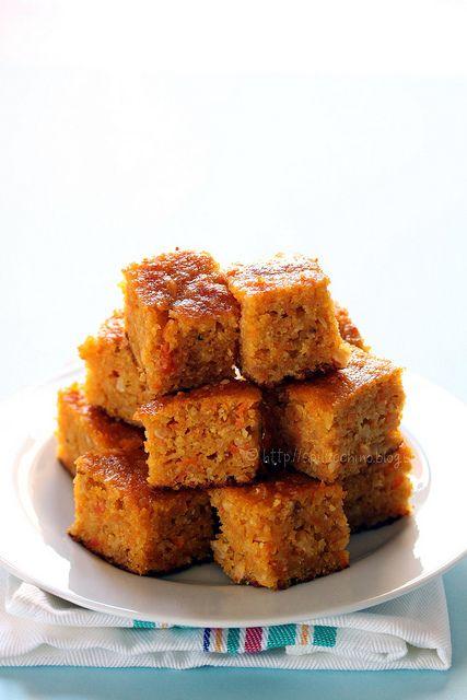 torta di carote  Italian     http://www.organictuscany.org/recipes/vegetarian/carrot-cake