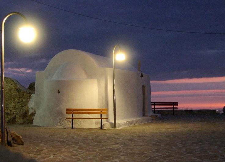 Little church in Anafi