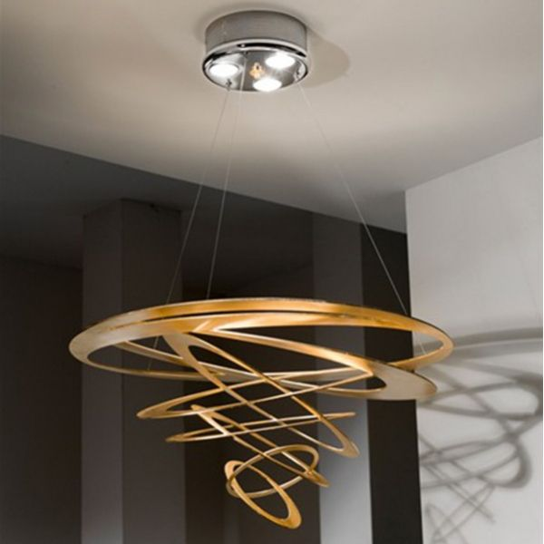#Art with light introducing the Masca Loop ceiling #light