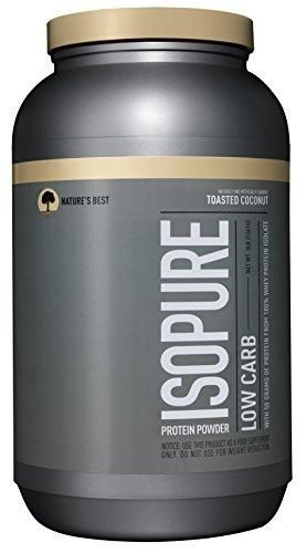 Isopure Low Carb Protein Powder Toasted Coconut 3 Pounds (Packaging May Vary)