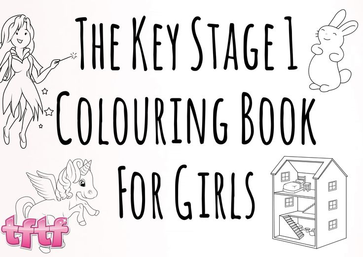 The key stage 1 colouring book for girls ks1 art key stage 1 art