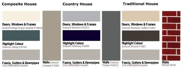 Colorbond Dune Amp Attorney Exterior Colour Scheme