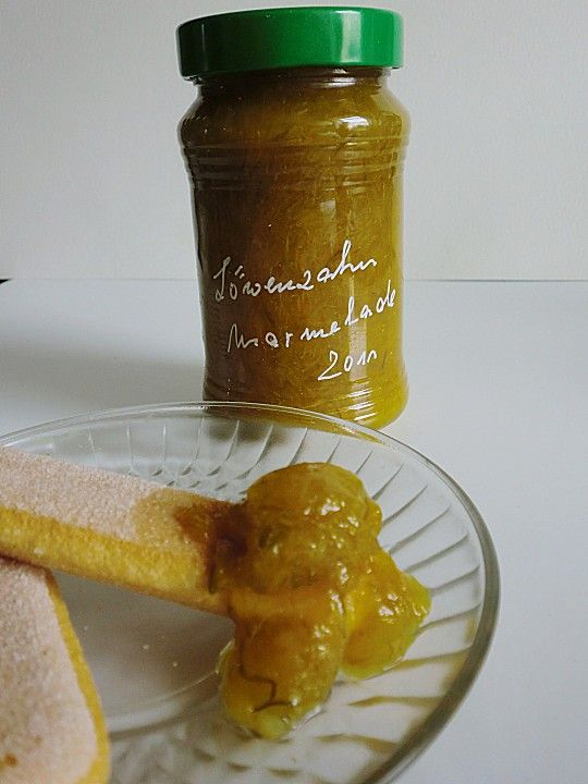 Chefkoch.de Rezept: Löwenzahn-Marmelade