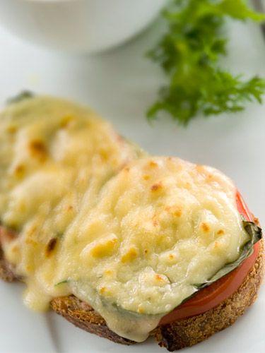 Portobello mushroom grilled cheese