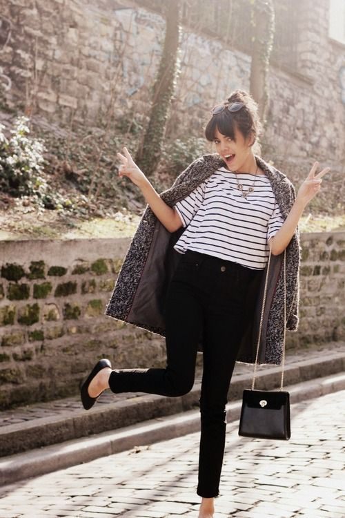 Trending: How to wear a striped top