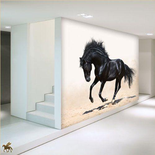 ber ideen zu fototapete pferd auf pinterest. Black Bedroom Furniture Sets. Home Design Ideas