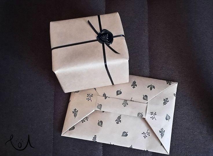pretty packaging, szary papier - mój bohater