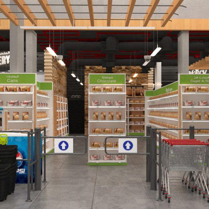 Supermarket Grocery 3d Model Grocery Supermarket Store Design Interior Supermarket