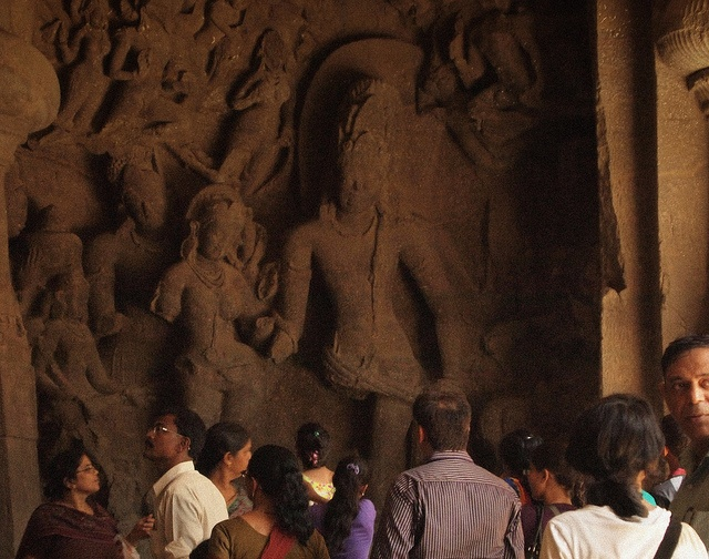 The Wedding of Shiva and Parvathi - Elephanta Caves by Arun Shah Masood, via Flickr