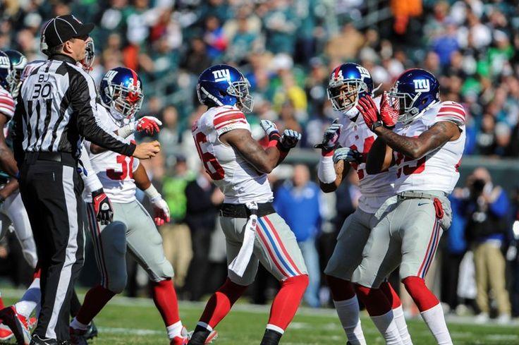 Ganan a patadas SEMANA 8 Giants de Nueva York 15-7 Eagles de Filadelfia  Foto: Reuters