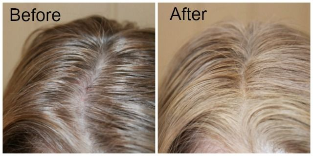 Agebeautiful Root Touch Up Spray Just Look At How A Few Sprays