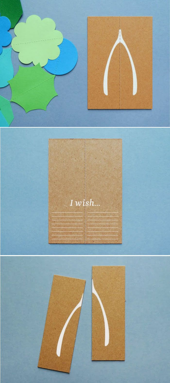 Wishbone Card from Present and Correct