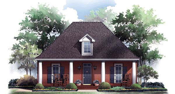 3 bedroom house plan pictures - HPG-1733-1