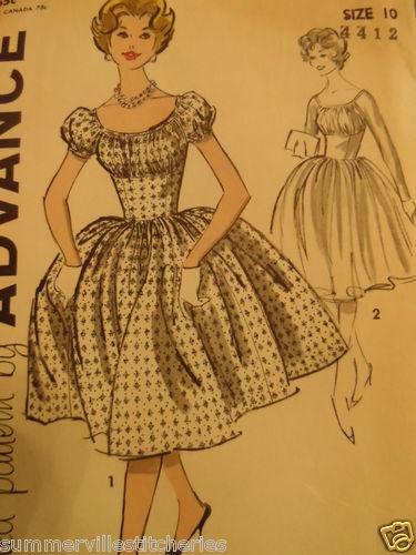 Sewing Pattern VINTAGE ADVANCE 9423