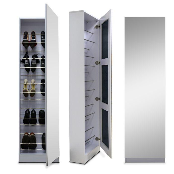 MagicInTheBox.Co.Za - Full Mirrored Shoe Storage Cabinet, R3,598.00 (http://www.magicinthebox.co.za/full-mirrored-shoe-storage-cabinet/)