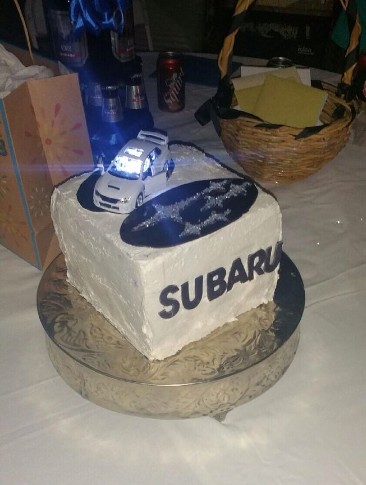 rally car wedding cake topper 75 best images about subaru cake on 18964