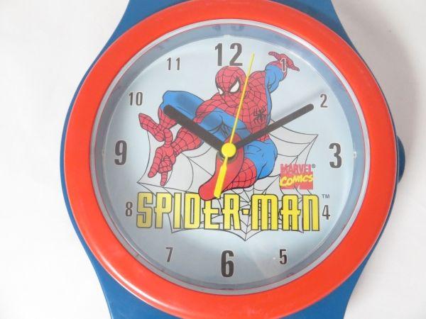 【激レア】Marvel スパイダーマン 腕時計型掛け時計_画像2