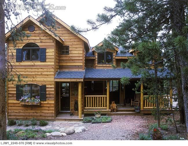 Clapboard Siding Cabin And Colorado On Pinterest