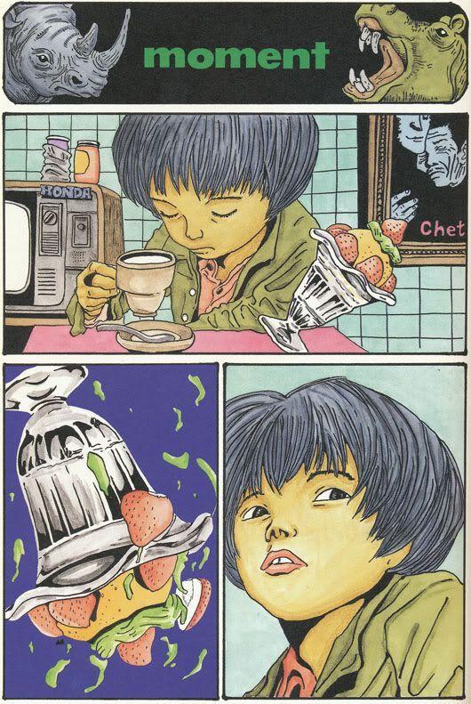 Taiyo Matsumoto: MOMENT: