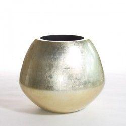 Boa Champagne #Planters #For #Life #PFL #Unique #Natural #Materials #Design #Vases #Pots #Bowls #Pillars #Craftsmanship #Maple #Gold #Silver #Leaf #Boa #Champagne