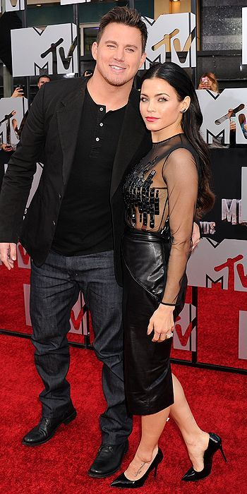 MTV Movie Awards 2014 : Channing Tatum & Jenna Dewan Tatum