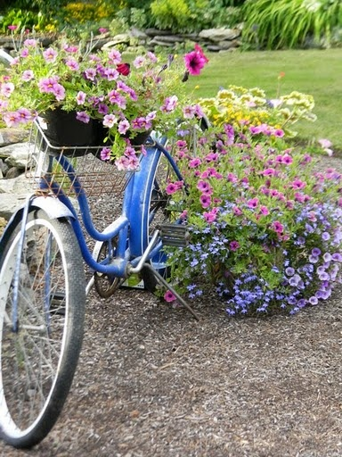 Bicycle Planter   When We Redo The Patio Landscaping, I Am Going To Include  A