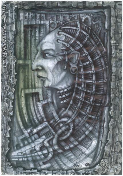 Mazán Mihály - Cím nélkül című festménye