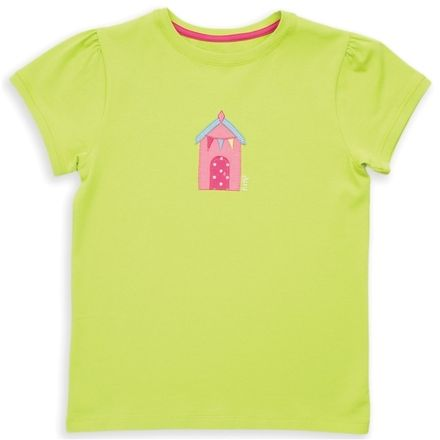 Kite Lime Beach Hut T-shirt