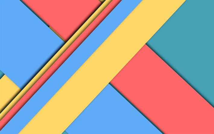 Download wallpapers colorful strips, art, lines, design material, abstract material