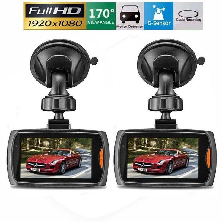 2 PACK  HD 2.7 LCD 1080P Dash Cam Car DVR Vehicle Camera Video Recorder