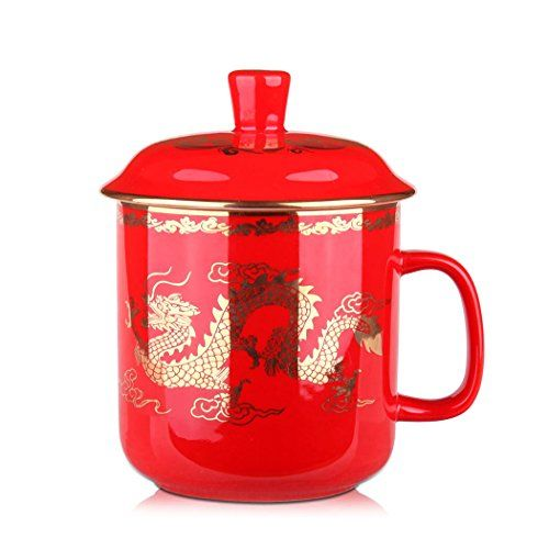 $25.99 + $2.99 shipping  China Red Dragon Porcelain Ceramic Single Tea Cup Coffee Mug with Lid Sunny Hill http://www.amazon.com/dp/B00SKU2JE2/ref=cm_sw_r_pi_dp_RKoqwb19H0JPB