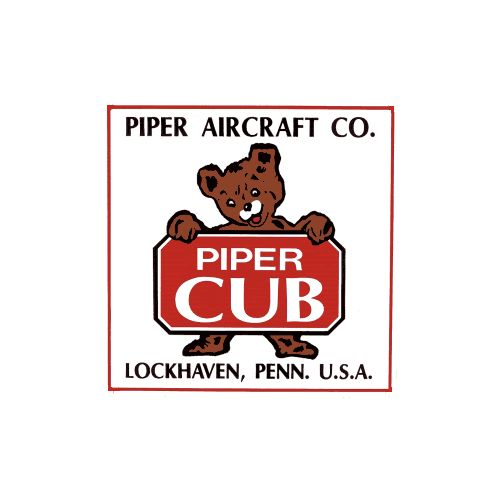 Piper Aircraft Porcelain Refrigerator Magnet