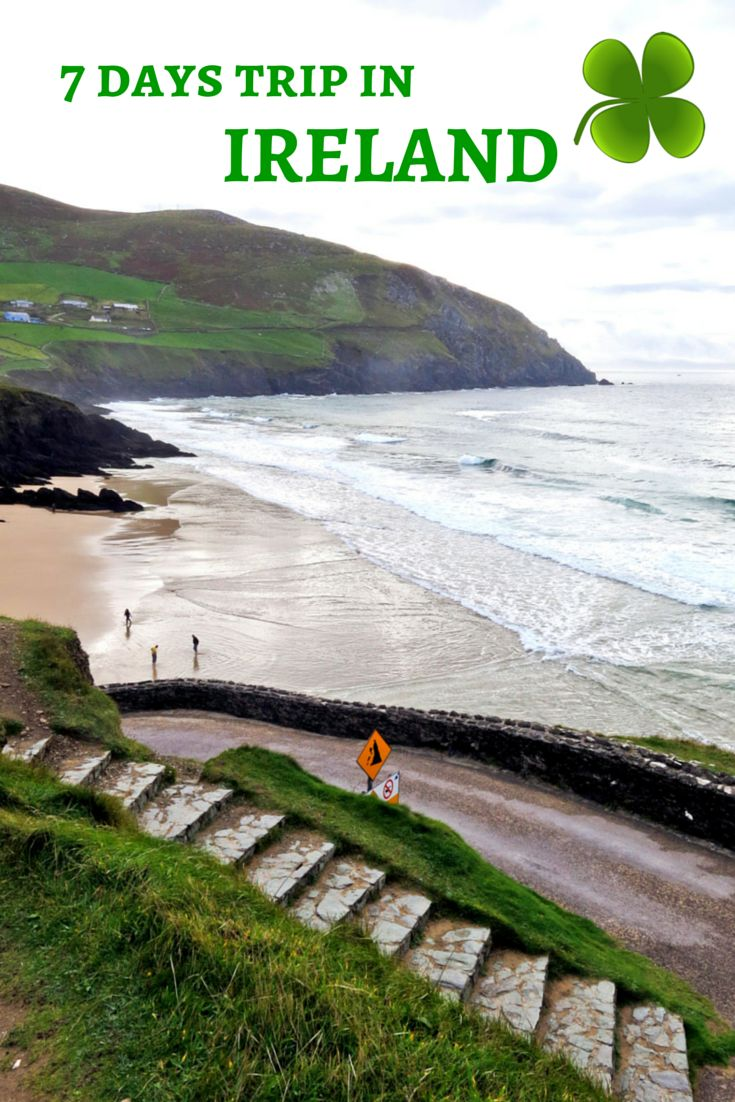 "Special Saint Patrick's Day: 7 days trip in Ireland. French article but lots of ""green"" photos!"