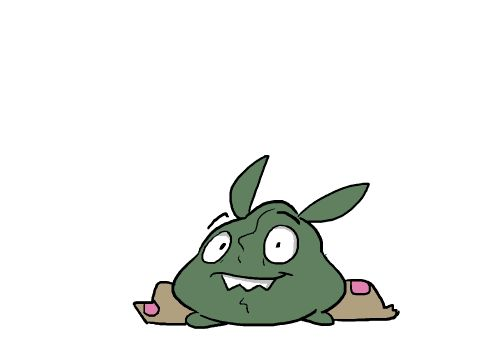 Pokemon Evolution GIFs - Trubbish to Garbador