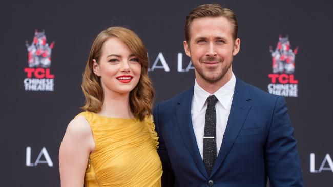 Actors Emma Stone and Ryan Gosling are for a lot of award ceremonies in the new year due to La La Land. Picture: Emma McIntyre / Getty