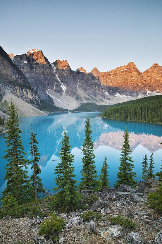 Banff National Park, Canada - one of the top 5 parks in this weeks bucket list. See the other 4 at the blog link: www.ytravelblog.com/travel-pinspiration-national-parks #Travel