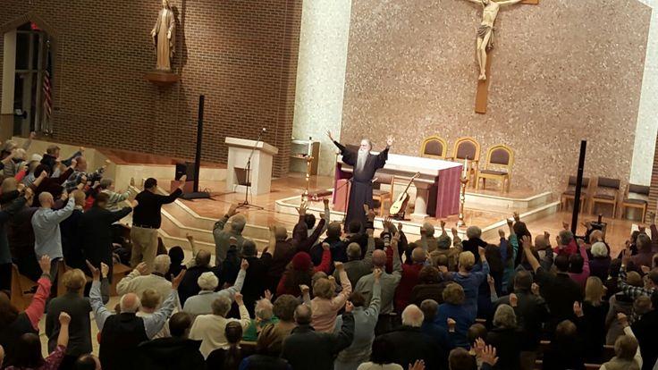 Fr John Michael Talbot during a Parish retreat