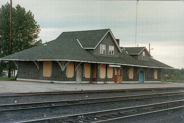 CNR Foleyet Station, Foleyet Ontario  This station is no longer standing.Old Canadian Train Stations, Quebec and Ontario