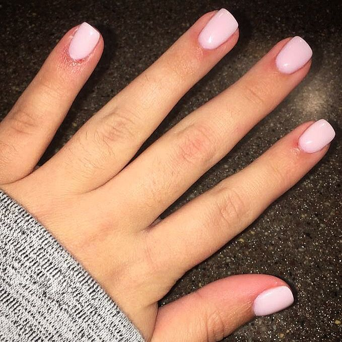 Powder Dip Manicure Color Is Tequila Rose Manicure Colors Rose Nails Dipped Nails