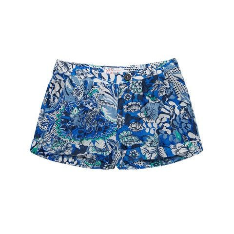 One Sunday girls Happy camper shorts
