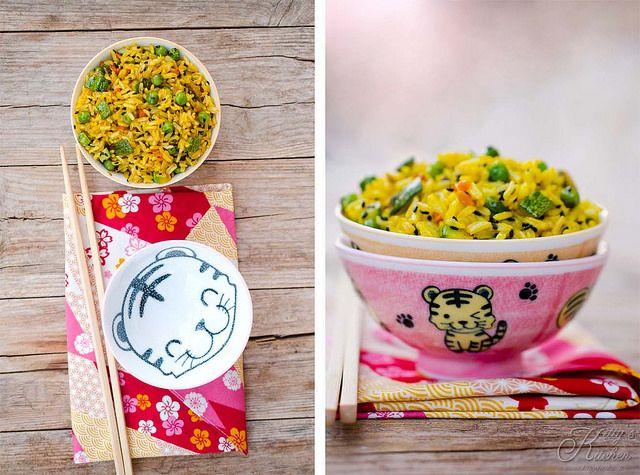 riso fritto con verdure
