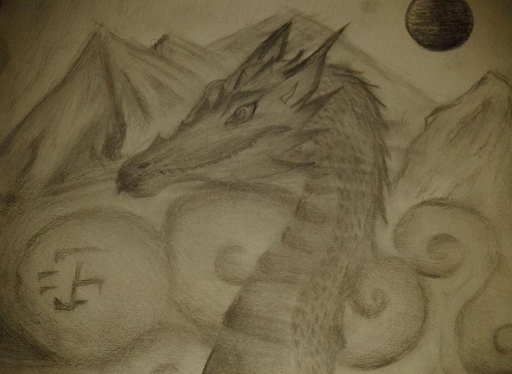 dragon valley - Artwork by Justin Strickland