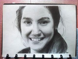 Syahrol3d: Sketsa wajah Pevita pearce
