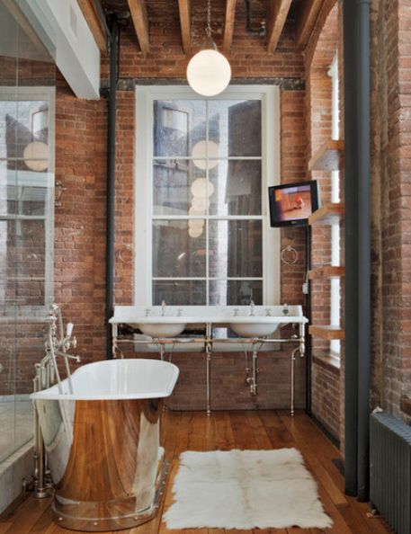 10 best Exposed brick walls and stylish furniture - our dream ...
