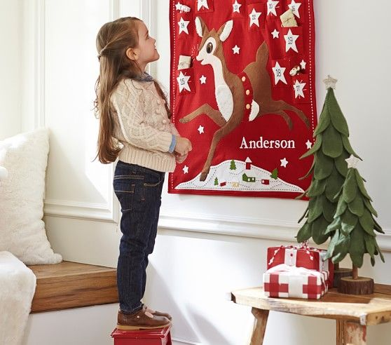 Classic Rudolph the Red-Nosed Reindeer® Advent Calendar | Pottery Barn Kids