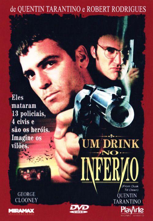 Um filme de Robert Rodriguez com George Clooney, Quentin Tarantino : Os irmãos Seth (George Clooney) e Richard Gecko (Quentin Tarantino) são procurados pela polícia por 16 mortes. Eles seqüestram um ex-pastor e seu casal de filhos, para poderem atravessar a fronteira com o México e lá se dirigem à uma casa noturna ...