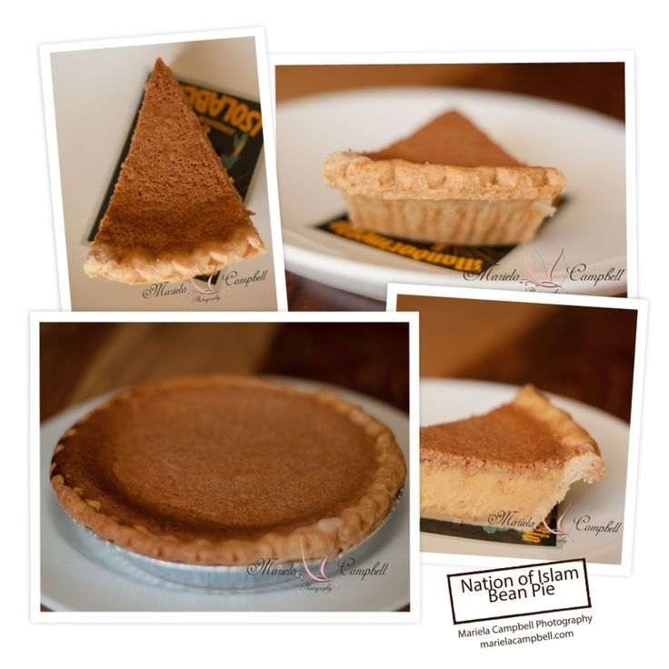 """Bean pie   """"IF YOU HAVE NEVER TASTED THIS PIE, DO SO , ITS FAB !!"""