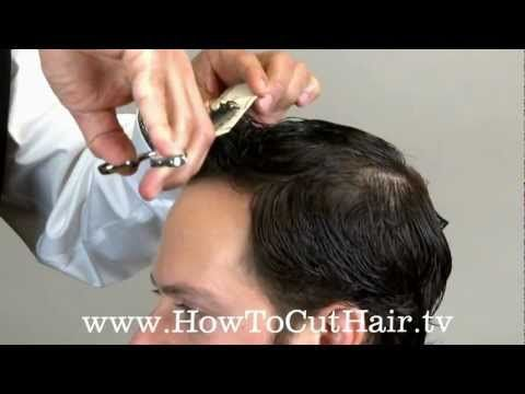 How To Cut Hair With Scissors - Scissor Over Comb Technique -- Greg Zorian's How to cut hair.  The Metro: http://www.howtocuthair.tv/the-metro/