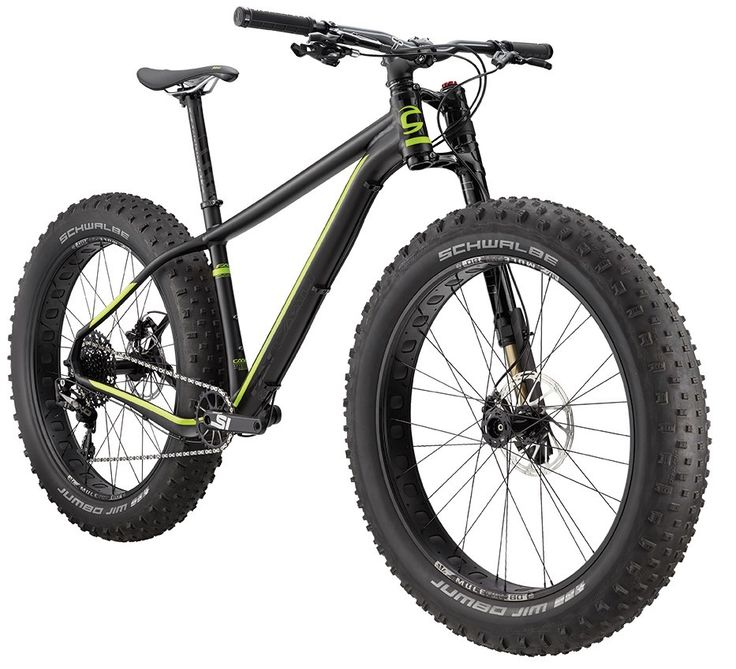 2016 Cannondale Fat CAAD 1 | 4.8 inch wide tyres | Olaf Lefty fork | Wheelies.co.uk