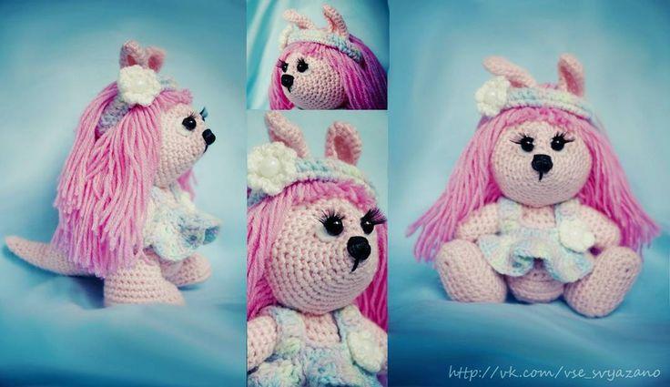 Весенняя #кенгуру. Дом нашла. #хиппи #розовый #амигуруми #крючком #подарок #ручнаяработа #всёсвязано #Катявяжет #вяжутнетолькобабушки #РостовнаДону #милота #amigurumi #weamiguru #toys_gallery #knitting #handmade #instacrochet #knit #crochet #kangoo #teddy #teddystyle #cute #gift #crochet #adopted by vsesvyazano_gifts
